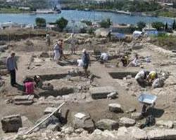 Раскопки базилики Крузе идут полным ходом