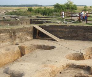 Раскопки в Болгарах